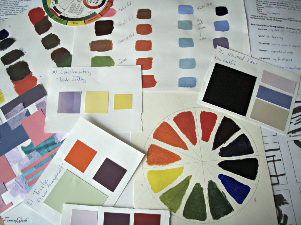 Materials from Color Strategies workshop @FanningSparks