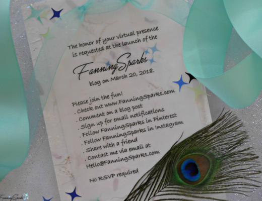 Formal invitation to join the fun at the FanningSparks blog launch