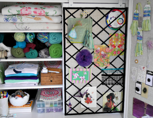The ultimate Maker's Cabinet with lots of display and storage space. @FanningSparks