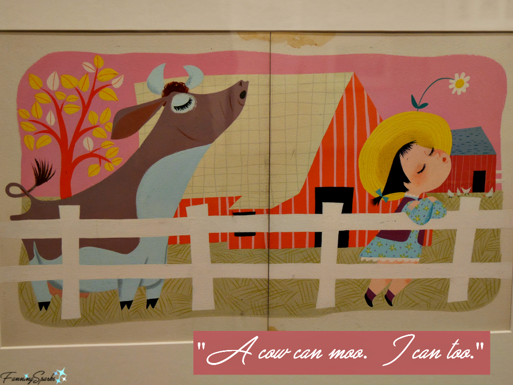 Mary Blair illustration for I Can Fly @FanningSparks