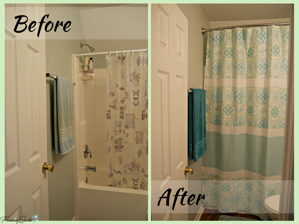 Small Change Big Impact In Guest Bath Fanningsparks