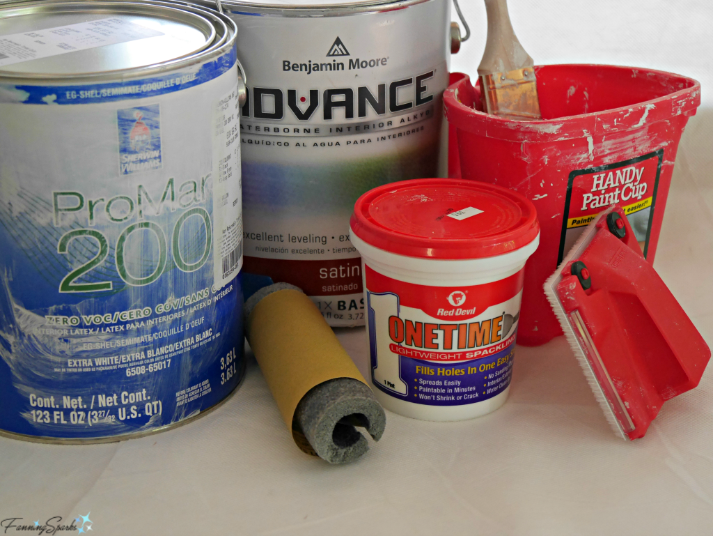 My favorite painting supplies and tools. @FanningSparks
