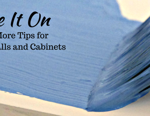 Glide It On and 14 more tips for painting walls and cabinets. @FanningSparks