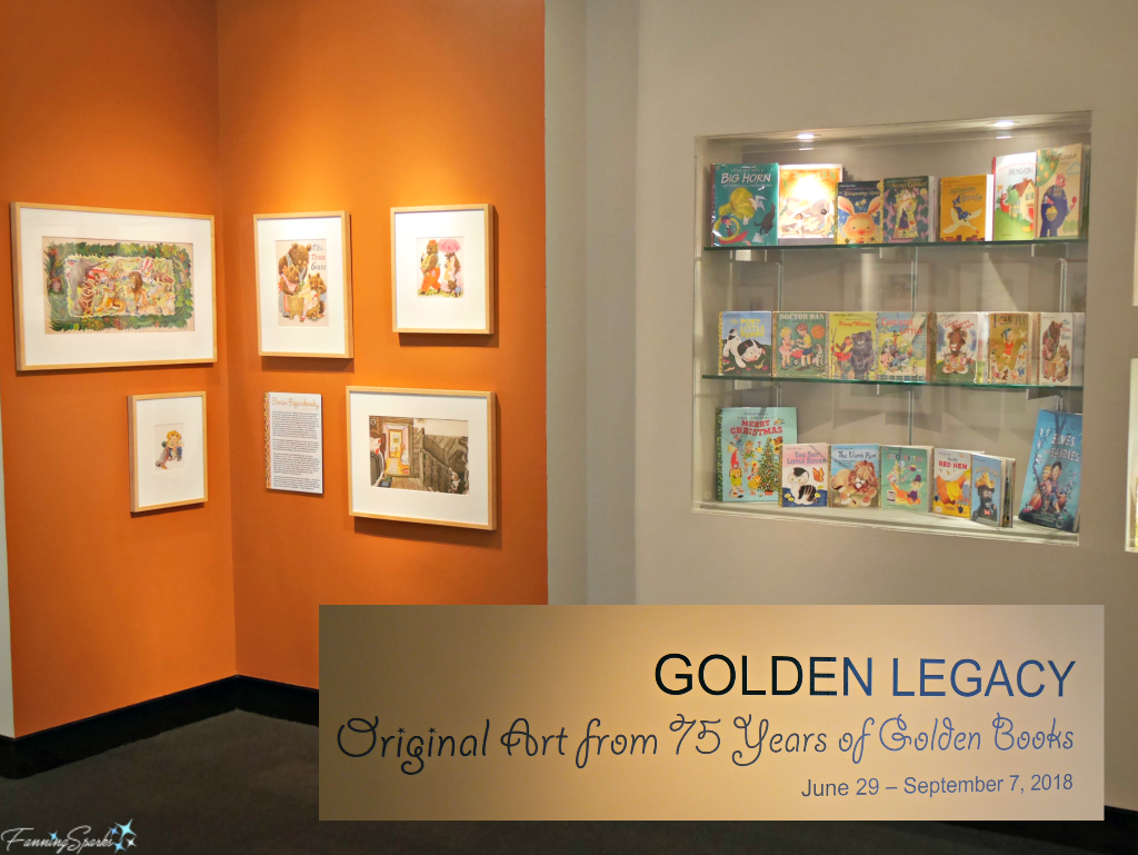 Golden Legacy exhibit at RCW Museum of Papermaking @FanningSparks