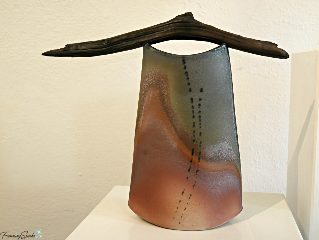 Sawyer's Gift by Kathy King at Perspectives Georgia Pottery Invitational 2018. @FanningSparks