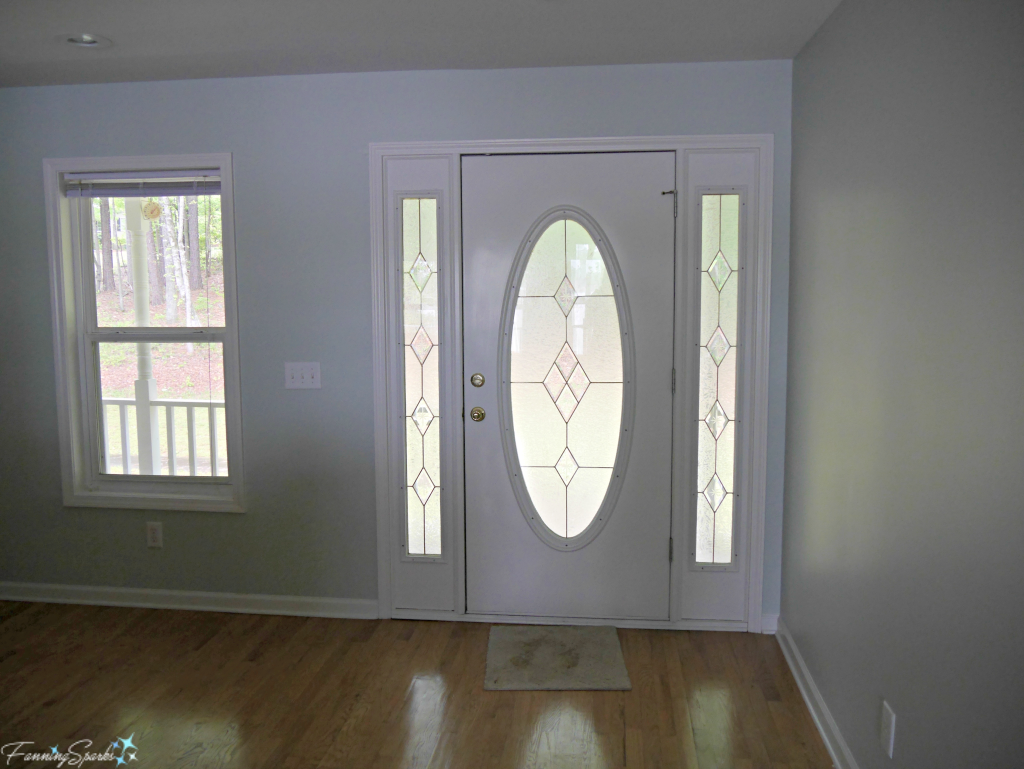 Before view of Front Door. @FanningSparks