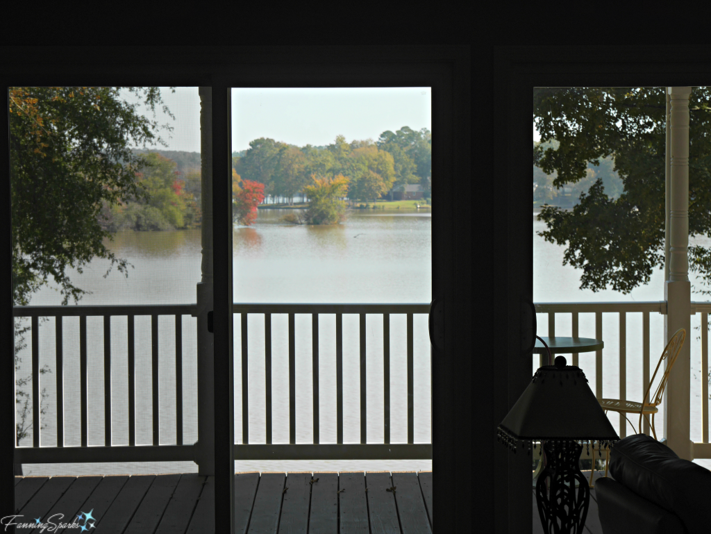View of Lake Oconee from front entry. @FanningSparks