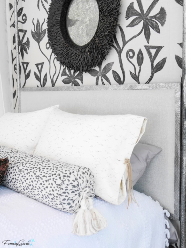 Fully Dressed Bed in Southern Living Idea House.   @FanningSparks
