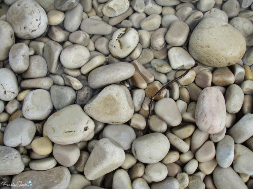 Smooth and Polished Lakeside Stones at Schoolhouse Beach in Wisconsin.   @FanningSparks